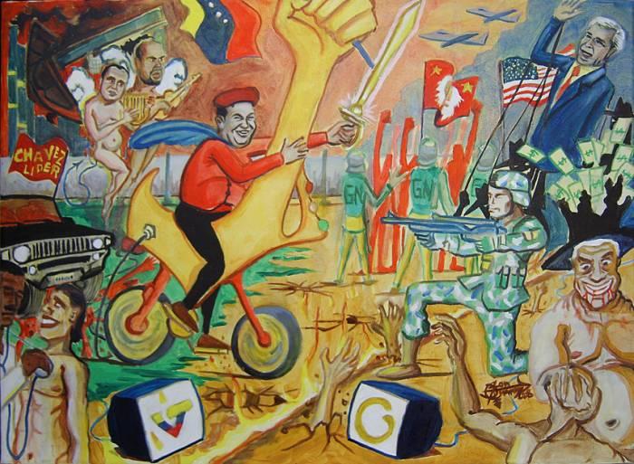 Jon Juanma, Proceso Bolichaviano y despertar del pueblo venezolano, 2008