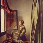 Jan Vermeer van Delft, Muchacha Leyendo