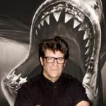 artista_estadounidense_Robert_Longo_dibujo_i_Study_for_shark_i_2008