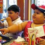 niños gordos