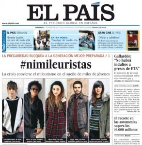 Kiosko y Más - El País - 11 mar 2012 - Page #1