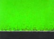 verde sobre fondo negro