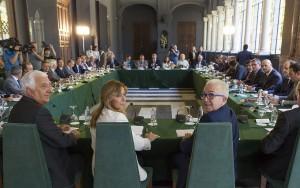 Susana Díaz con los grandes empresarios andaluces