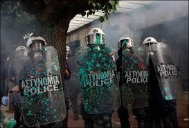policias griegos