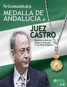 medalla andalucia juez castro med