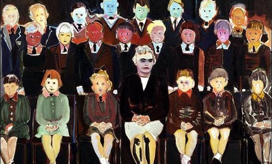 the-teacher-marlene-dumas