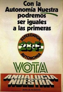cartel autonomicas